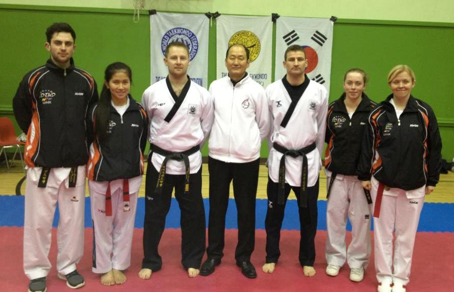 SDTKD With GM Shin & Master Culbert